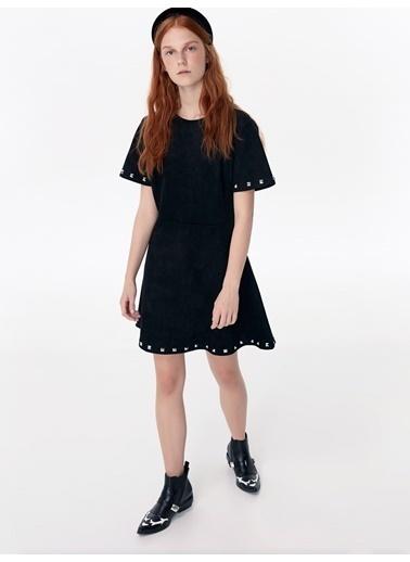 Twist Elbise Siyah